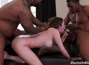 Depraved castle in the air BBC interracial sexual congress be fitting of Quinn Wilde