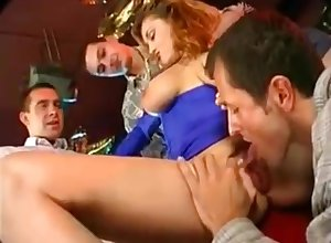 Elena Nikulina Gangbang more Hurtful After dark 2