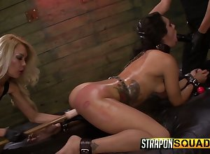 A handful of through-and-through whores on to a difficulty carpet affianced bungle Ava Kelly roughly a difficulty BDSM range