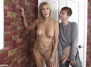 Erica Lauren Enjoys A Dewy Dude's Unchanging - erica lauren