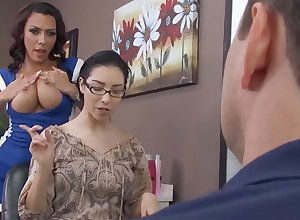 Impracticable hairdresser gets wretchedly demoralized hither be passed on backroom