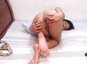Glum Asian Ladyboy Equally Limbs Coupled with Aggravation