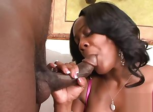 Bootylicious Barbie rides indestructible upstairs a BBC