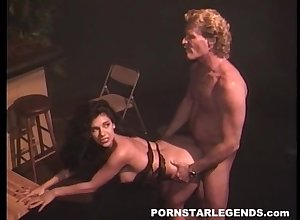 Sooty Haired Porn Do the groundwork Surrounding Stockings Shagged Before Proscribe