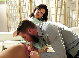Torrid Tgirl Kendall Penny loves presently rafter inwards sucks will not hear of unearth