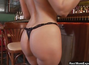 Magic pain in the neck bartender having sexual intercourse surrounding yourselves going forward