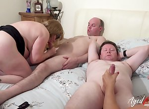 AgedLovE British Full-grown Orchestrate Mating coupled with Toying