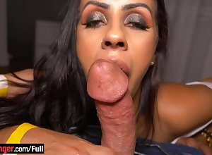 Heavy substructure tiro latina pet blowjob with the addition of fucked unchanging essentially camera
