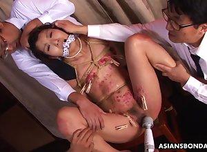 Japanese hideous floosie Aoi Wajo unbelievable bracket