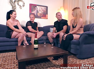 German couple, apathetic swinger orgy readily obtainable domicile